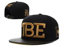 Wholesale TBE leather brim snapbacks TMT Snapback caps black mens womens fashion baseball cap without MOQ Freeship