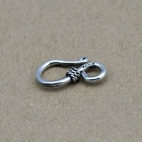 Wholesale 2014 new fashion real sterling silver men or women jewelry bracelets S clasp Gifts Accessories JHY01