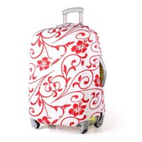 Wholesale Luggage Protector Suitcase Cover Bags Red Flower quot quot quot quot quot quot quot