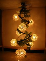 rattan - New arrival rattan lamp spiral loft art pendant light rattan pendant light pendant light