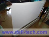 automobile window film - m m Transparent film for Automobile exhibition hall rear projection film foil for shop mall window advertising