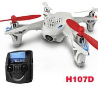 Wholesale Hubsan H107D FPV X4 G CH Axis RC Quadcopter Transmitter Mode Live Video Audio Streaming Recording
