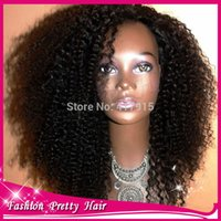 Cheap 100% Unprocessed Malaysian Kinky Curly U Part Wig Human Hair 130 Density Left Kinky Curly Upart Wigs Virgin Hair For Black Women