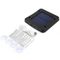 Wholesale 1800mAh Outdoor Portable Square Solar Panel Car Window solar Charger patented solar charger