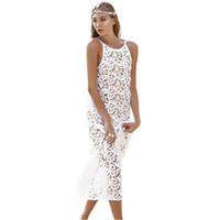 best beach deals - Best Deal Sexy Strap Backless Swimwear Cover up Lace Maxi Dress Long Beach Swimsuit Cover pc