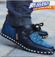 Wholesale high quality genuine European style spring autumn men s casual shoes sport shoes Elevator shoes add high cm