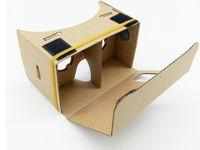 Wholesale DIY Google Cardboard Mobile Phone Virtual Reality D Glasses Unofficial Cardboard Google Cardboard VR Toolkit D Glasses CCA1785