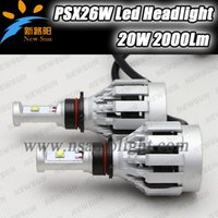 auto xml - 12V V High Power W PSX26W LED Head Light CREE XML chips led Car Fog Lamp K LED Auto Headlamp Bulb PSX26W