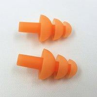 Wholesale GOOD Waterproof swimming Earplugs professional silicone earplugs adult swimmers children diving Soft Anti Noise Ear plug OL40 B