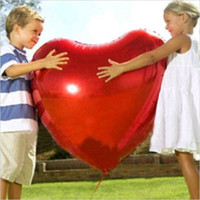 Wholesale Good quality Aluminum Coating Ballon Ultra Large Heart Balloon Aluminum Foil Balloon Wedding Marriage Decoration