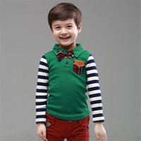 ageing spelling - The new age season The boy institute wind spell grid stripe bow Boy s coat