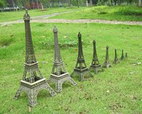 Wholesale France Pairs The Eiffel Iron Tower model hand made it height cm