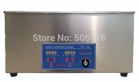 Wholesale Free ship Brand new L Ultrasonic cleaner Timer Heater Stainless Digital power adjustable