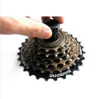 Cheap Bike Bicycle Cassette Flywheel Freewheel Lockring Remover Removal Repair Tool For Bike Bicycle Shimano Black