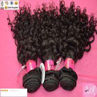 russian hair - A Grade Russian Virgin Hair Weaves Human Hair Weaves Jerry Curly Hair Extensions