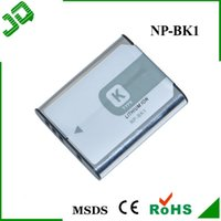 Wholesale NP BK1 NPBK1 Genuine Camera Batteries Battery for Sony DSC W180 DCS W190 S750 S780 S950 S980 with Retail Package