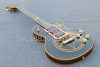 Wholesale New arrive Custom LP signature luxuriant Top Chinese Mahogany body Golden Hardware Electric guitar