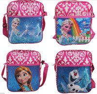 achat en gros de filles sac cadeau d'anniversaire-Sacs Congelés Sacs d'école pour les filles Enfants Enfants Cadeau de Noël Cadeaux d'anniversaire Sacs à dos d'école Livraison gratuite
