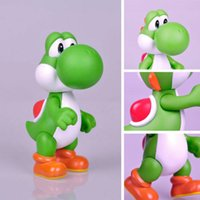Wholesale New Super Mario inches YOSHI Green Figure Toy Super Quality Kids Figures
