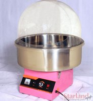 cotton candy machine - Commercial candy floss machine_electric cotton candy machine with pink and red color easy operation an easy cleaning stainless steel kettle