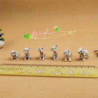 dollhouse - Dollhouse Miniatures Dalmatians Dotted Dog Figures Scale