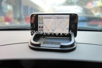 aluminium car mats - Black Multifunctional Rubber Anti slip Mat Car Dashboard Non slip Pad bracket for Phone debris order lt no track
