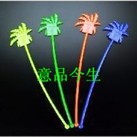 Wholesale Multicolour swizzle stick cocktail swizzle stick stirring rod multicolor mixed stowage pieces order lt no track