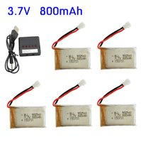 Wholesale Syma Drone X5 X5C X5SC X5SW H5C Series Battery and Charger Port Hub Set Batteries Charger Hub Upgraded V mAh Syma Accessories