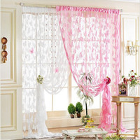 Wholesale 2014 Vintage Style Home Curtains Romantic Butterfly Encryption Entryway Hallway Windows Door Decoration Hanging Curtains ZHT059