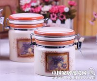 Wholesale European style ceramic seal pot a family of four ceramic household items JH6001
