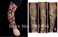 arm armor - Fashion and novelty Body Armor Fake Tattoo Sleeve Body Arm Stocking body tattoo sleeve Temporary Tattoos1