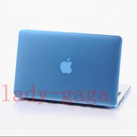 Wholesale Crystal Clear Front Back Protective Hard PC Case Cover For Macbook Air Pro Retina