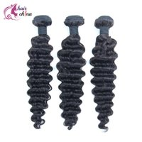 arrival indian hair - 7A High Quality Cheap Brazilian Human Hair Weave Malaysian Indian Hair Bundles Weft Original Deep Wave New Arrival Hairstyle