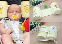 Wholesale New arrival Cute Baby Toddler Safe Cotton Anti Roll Sleep Head Baby Pillow Positioner Anti rollove free drop shipping