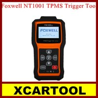 auto trigger system - New arrival XCARTOOL New Foxwell NT1001 TPMS Trigger Tool Auto NT1001 TPM Sensor Decoder Code Scanner Multi language with Best Qualit