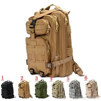 Wholesale 2015 New Men Women Unisex Outdoor Military Tactical Backpack Camping Hiking Bag Rucksacks