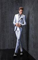 best travel pants - 2015 New Groom Tuxedos Slim Fit Best Man Suits Groomsmen Men s Wedding Dress Business Travel Work Suit Custom Made Jacket Pants Tie A2