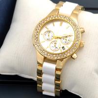 Unisex eyki - Watch Women Luxury Ceramic Quartz Date Mens Wrist Military Watch Dress Watch