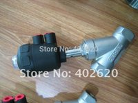 angle seat valves - DN50 Normally Open Pneumatic Stainless Angle Seat Valve