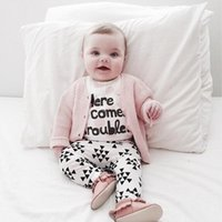 baby boy shirt pattern - Kids Clothing Spring Autumn Baby Girl Clothes Letter Pattern Long Sleeve T shirt Pants Kids Suits Newborn Baby Boy Clothing Sets