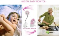 Wholesale Wireless Portable Baby Monitors Vedio Inch Screen GHz Infant Digital Video CCTV System Display Camera MOQ1PC