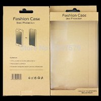 Wholesale Carton Boxes Cell Phone Case Retail Packaging Gift Bag Kraft Paper Package cm DHL