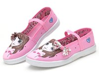 Wholesale Tenis Infantil Limited Rubber The New Children s Ballet Shoes Soft Bottom Cat s Paw Strength Canvas Princess Of Girls