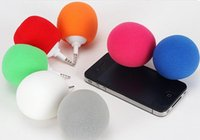 Wholesale by dhl or ems colorful mini balloon speaker for ipod iphone PC Mini Music Balloon Speaker