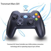 Wholesale Tronsmart Mars G01 Wireless Gamepad Controller Joystick Ghz For MXIII MXQ Android TV BOX CX Mini PC Windows PC PS3 Kindle Fire