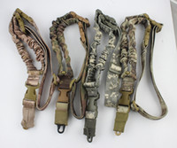 american singles - Tactical American sling One Single Point Sling Adjustable Bungee Rifle Gun Sling Strap System Tactical Single Point Gun Sling