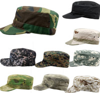 military caps hats - Hot Sales Military Army Styles Camo Camouflage Hat Hunting Baseball Cadet Casual Caps PX9
