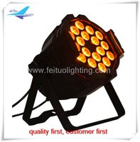 Wholesale high power x18w rgbwa uv in par led stage light decorative light