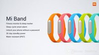 Wholesale Original Xiaomi MI band wrist Bracelet MiBand Bluetooth IP67 Waterproof Smart Wristbands Bracelet for Android Phones MI3 MI4 Free