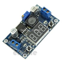 Wholesale F85 DC to V LED Voltmeter Buck Step down Power Converter Module LM2596